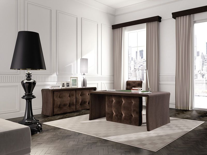 presidential office table, wooden office table, table with ...
