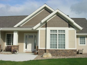 Two Tone Siding Design Ideas Pictures Remodel And Decor House Paint Exterior Exterior House Colors Exterior House Paint Color Combinations