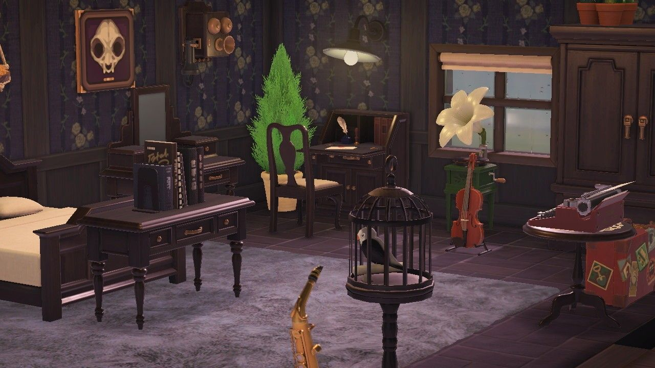 Acnh Bedroom Antique Bedroom Animal Crossing New Horizons Ideas House Antique Bedroom Furniture Acnh antique bedroom ideas