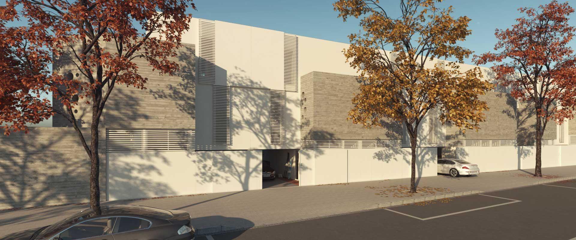 Descubre La Promoción Now Un Proyecto De 8 Casas Adosadas De Diseño Moderno Y Funcional En Una De Las Zonas De Expansión Disenos De Unas Diseño Moderno Casas