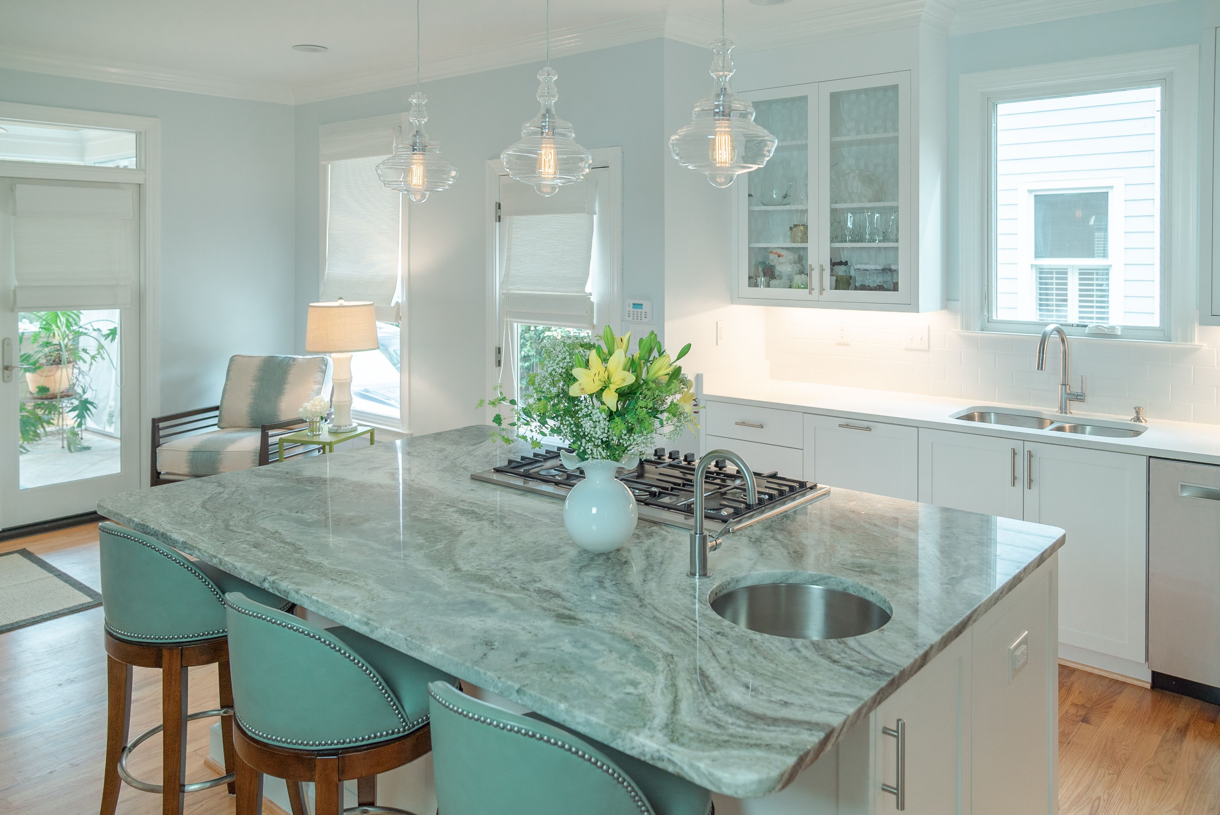 Light Filled Kitchen Kitchen Renovation Kitchen Marble Countertops