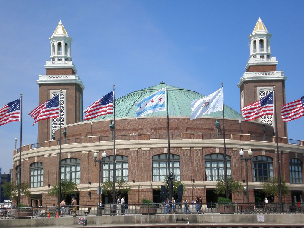 Navy Pier Chicago IL  Top vacation spots City vacation