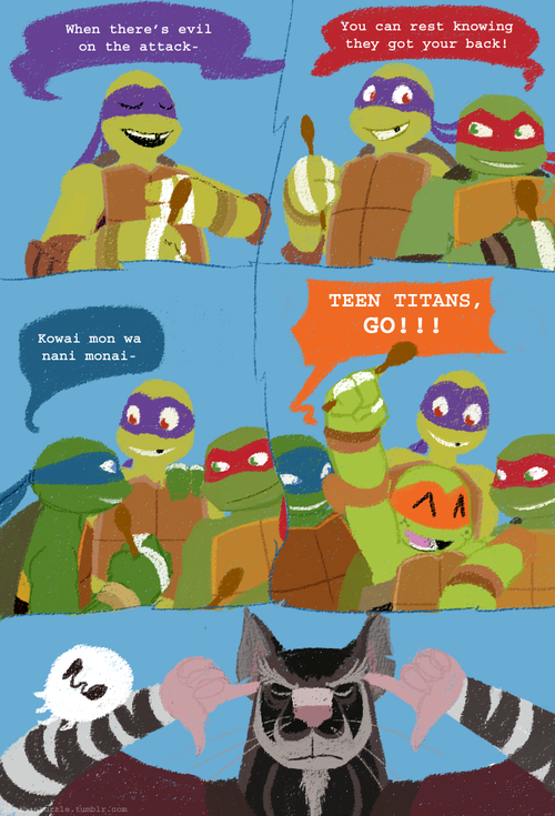 Haha Mikey Anyone Know What Leo Is Saying  Tmnt  Tmnt -7047