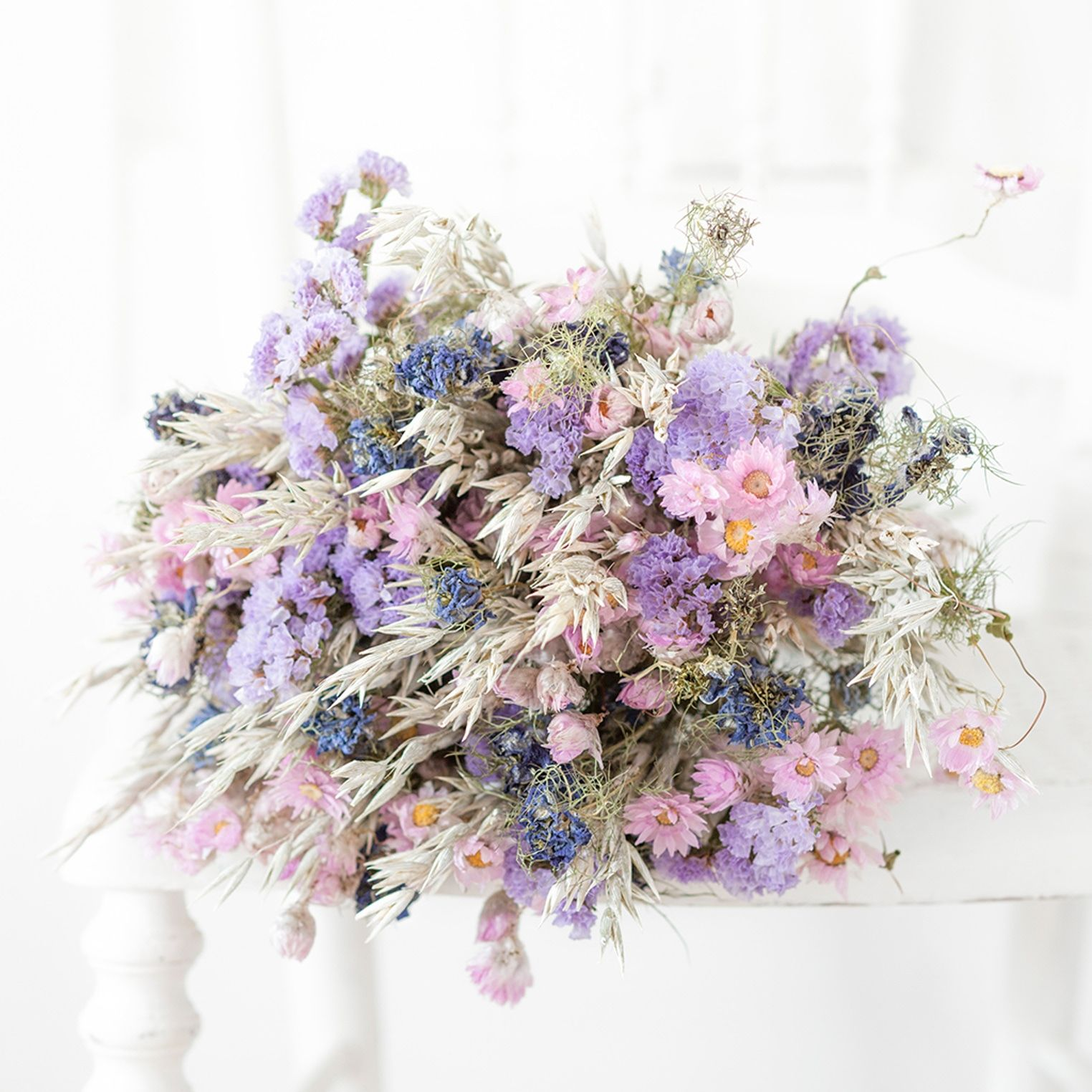 Bouquet de fleurs séchées Bellagio | Fleurs séchées, Livraison fleurs, Fleurs