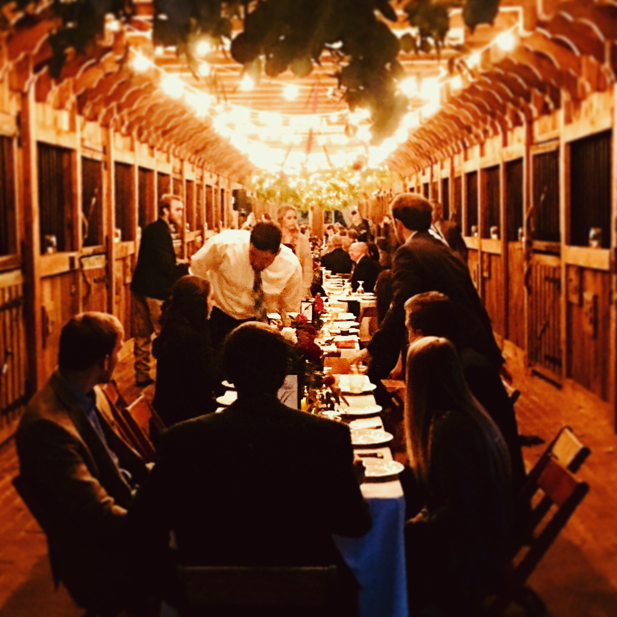 Dinner For 150 In Beautiful European Style Stable At The