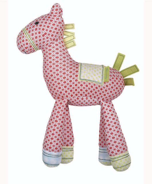 Gingerbread Soft Chime Toy Horse Soft Toys Mamas Papas