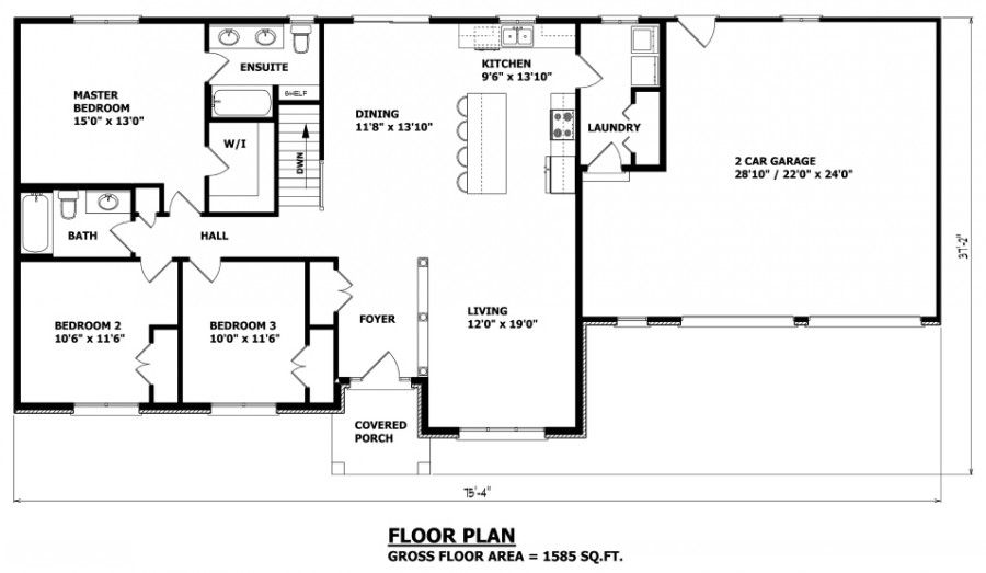 House Plans Canada Stock Custom Bungalow Floor Plans Craftsman Bungalow House Plans Bungalow House Plans