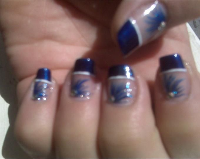 Dallas cowboy nail decals best nail designs 2018 nokti108 blue designs 100 3150 3153 prinsesfo Image collections