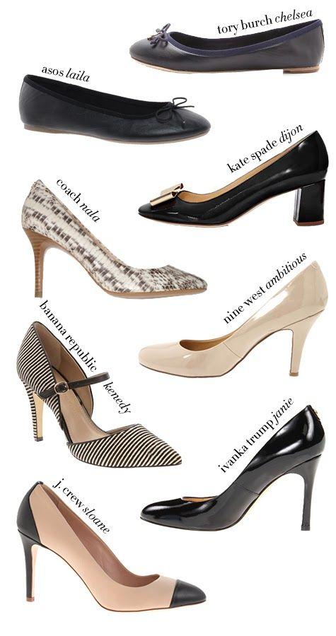 1f6ffac499 Working Girl Shoes (for interviews and jobs!) | Fashion | Interview ...