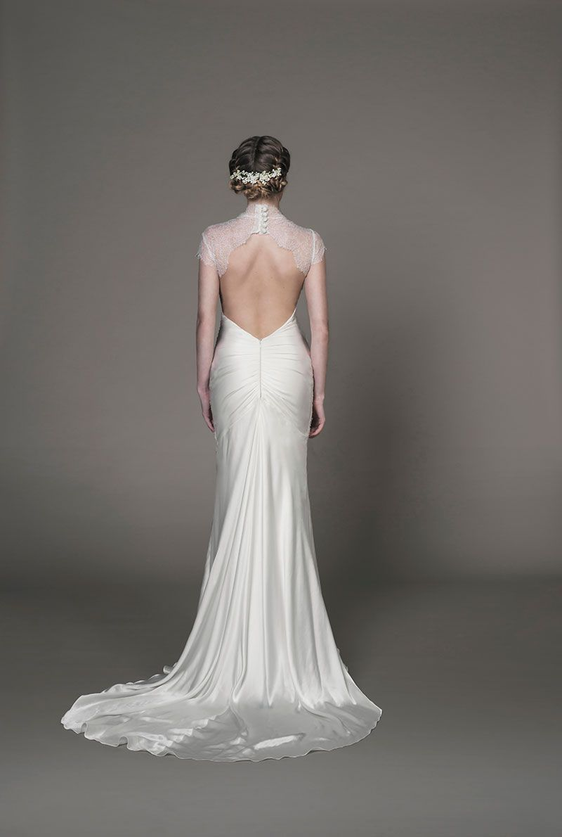 Ellene wedding dress | Vintage Winter Wedding | Pinterest | Bridal ...