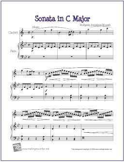 Pin On Mozart For Kids Famous Composer Lessons Plans And Sheet Music