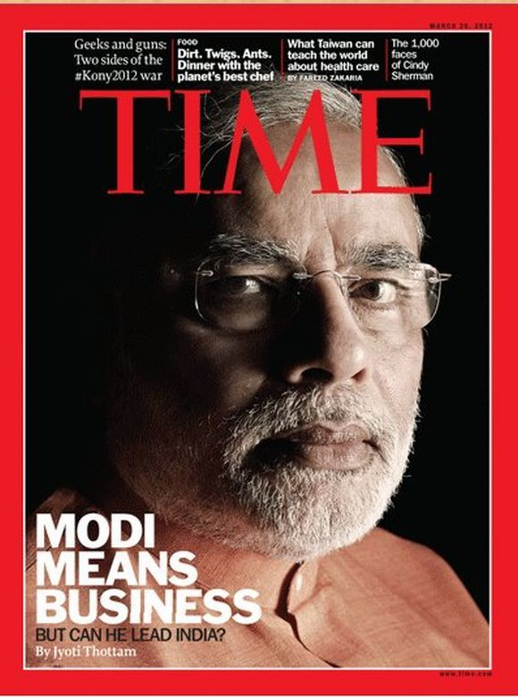 Narendra Modi - March 26, 2012 - IndiPin - The Pinboard of India