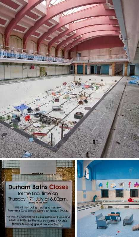 Off The Deep End 12 Abandoned Swimming Pools Durham City Baths