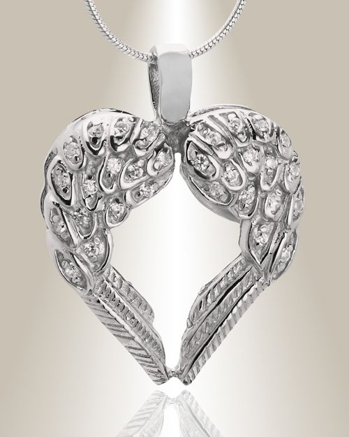 The Wings of Hope Memorial Jewelry is the perfect keepsake ...