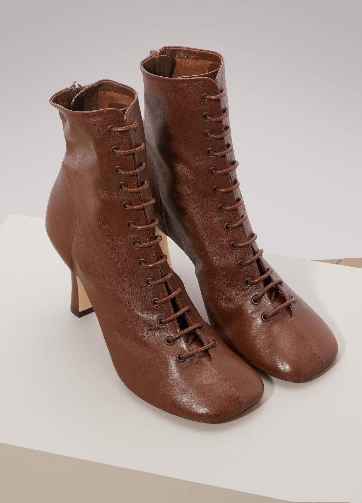 5f624e1e9a9a CELINE Glove ankle boots | p e t a l s in 2019 | Boots, Celine, Fashion