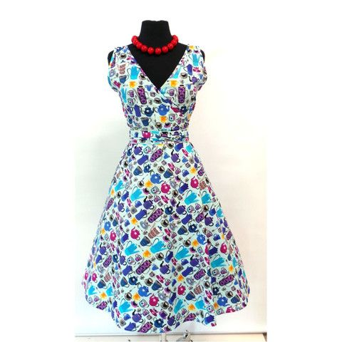 The dress Macie bought and wore on her date with Matt  Wrap Dress Tea Pots