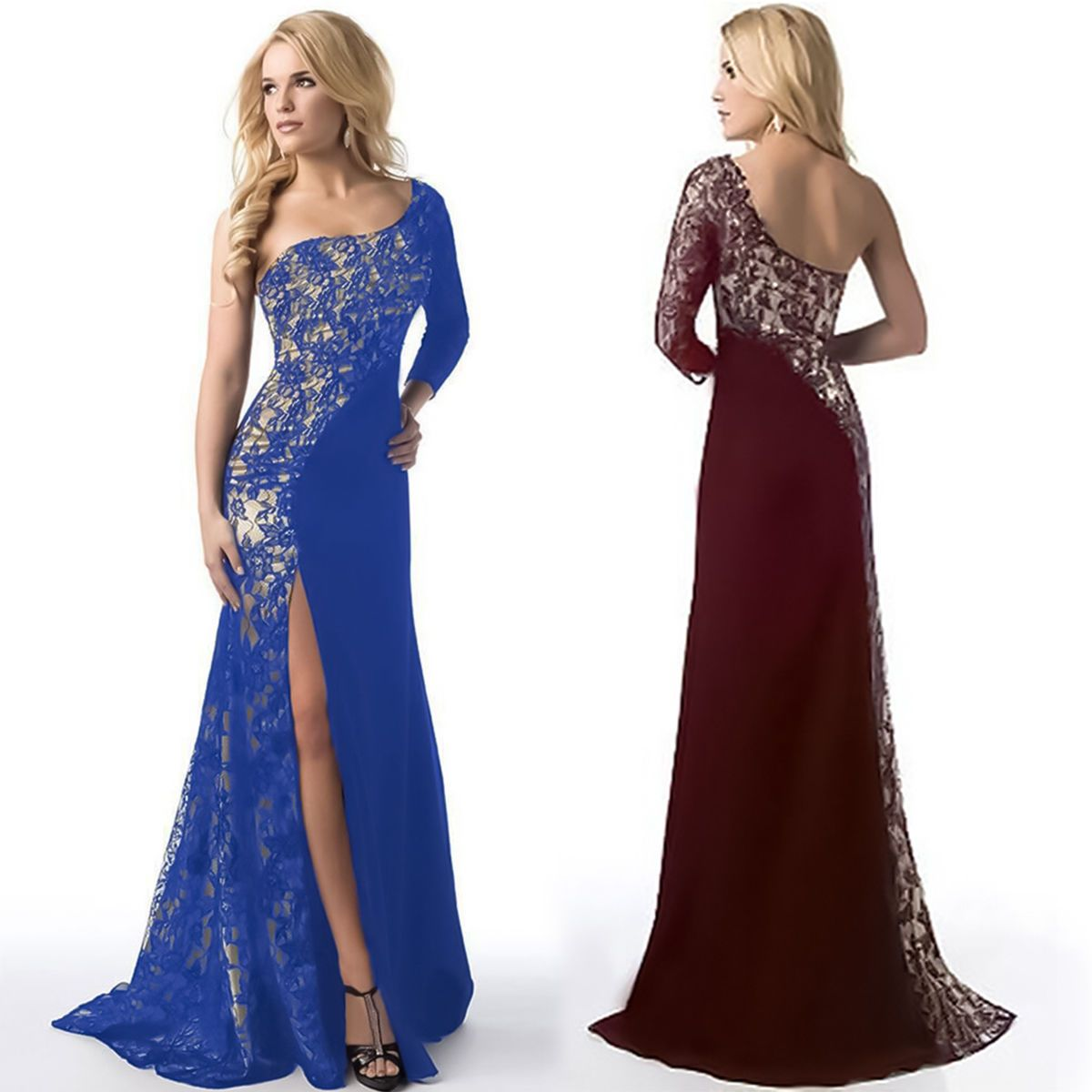 Awesome awesome women long evening party ball prom gown formal