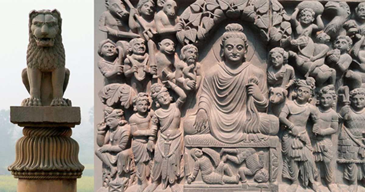 Beautiful Dynastic Artistry Shaped The Face Of Modern India Buddhist Art Buddha Buddhism Art