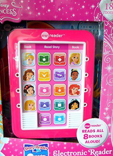 disney princess electronic reader and 8book library disn