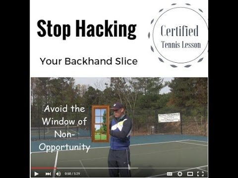 Have You Really Been Excited About Hitting A Nice Clean And Driving Slice Shot After Watching Your Favourite Pro Players On Television Then Tennis Lessons Tennis Workout Tennis Rules