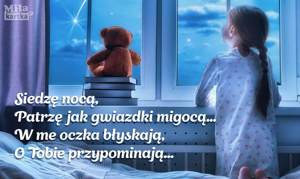 Dobranoc Dobranoc Gwiazdy Ksiezyc Miś Nadobranoc