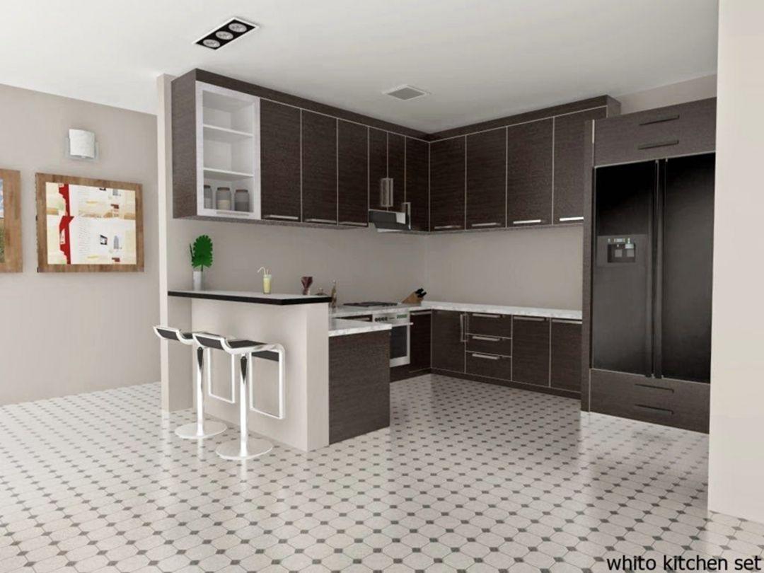 15 Gorgeous Minibar Designs Ideas For Your Kitchen Classic Kitchen Design Modern Kitchen Set Minimalist Kitchen