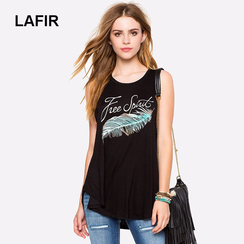 0456a963 LAFIR 2017 Sexy T Shirt Women Sleeveless Shirts Top Solid O-Neck Cotton  Blend Summer Tee Tops Female Plus Size Casual Shirts
