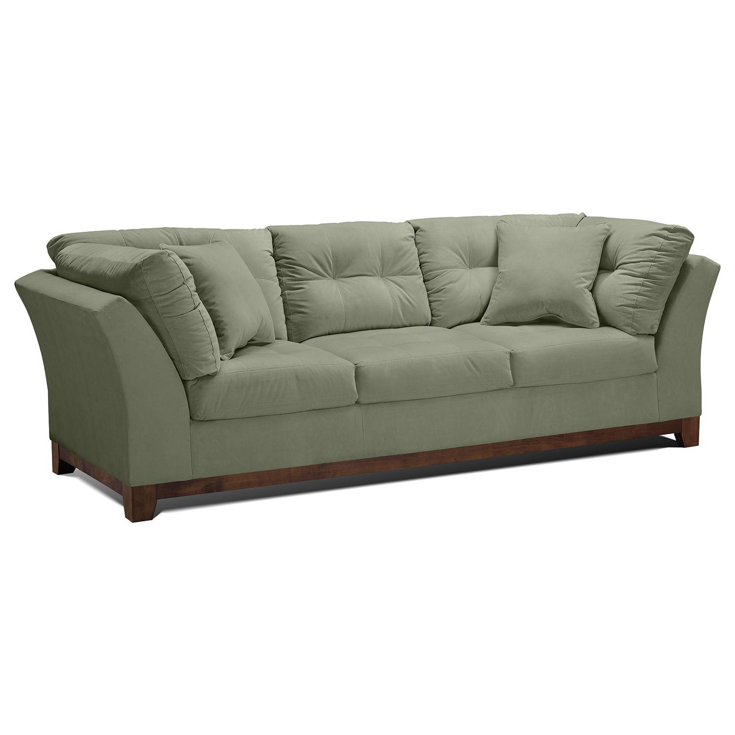 American signature furniture solace spa upholstery sofa