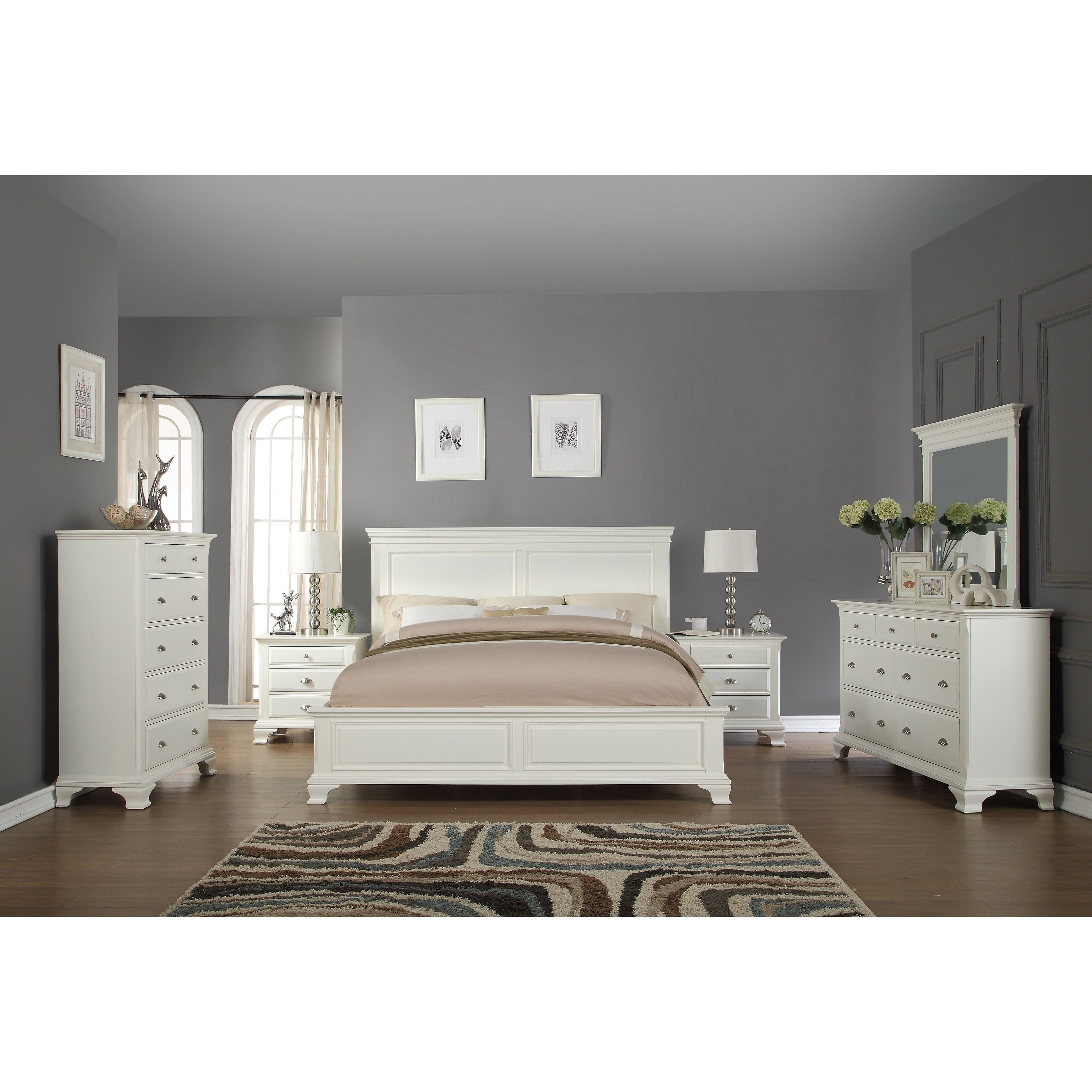 Overstock Com Online Shopping Bedding Furniture Electronics Jewelry Clothing More White Wood Bedroom Furniture Wood Bedroom Furniture Sets White Bedroom Set
