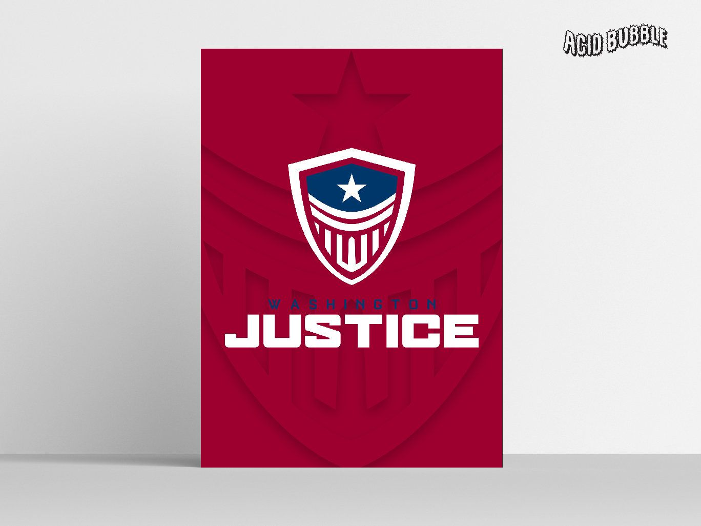 Overwatch League Poster Washington Justice Poster Print Wall Decor Washington Justice Gift Overwatch Wall Decor High Qu Poster Prints Wall Prints Office Prints