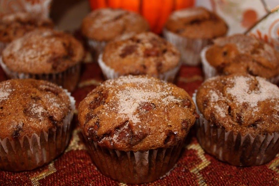 Cinnamon chip pumpkin muffins cinnamon chips pumpkin