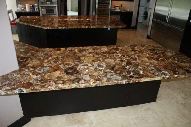 Bon Countertops Contemporary African Petrified Wood Countertop For Kitchen  Beautiful