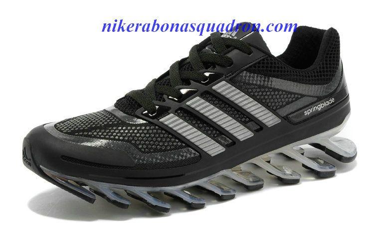 Carbon Negro Springblade Adidas nuevo Zapatos Are Springblade Negro To Propel Runners dffb19