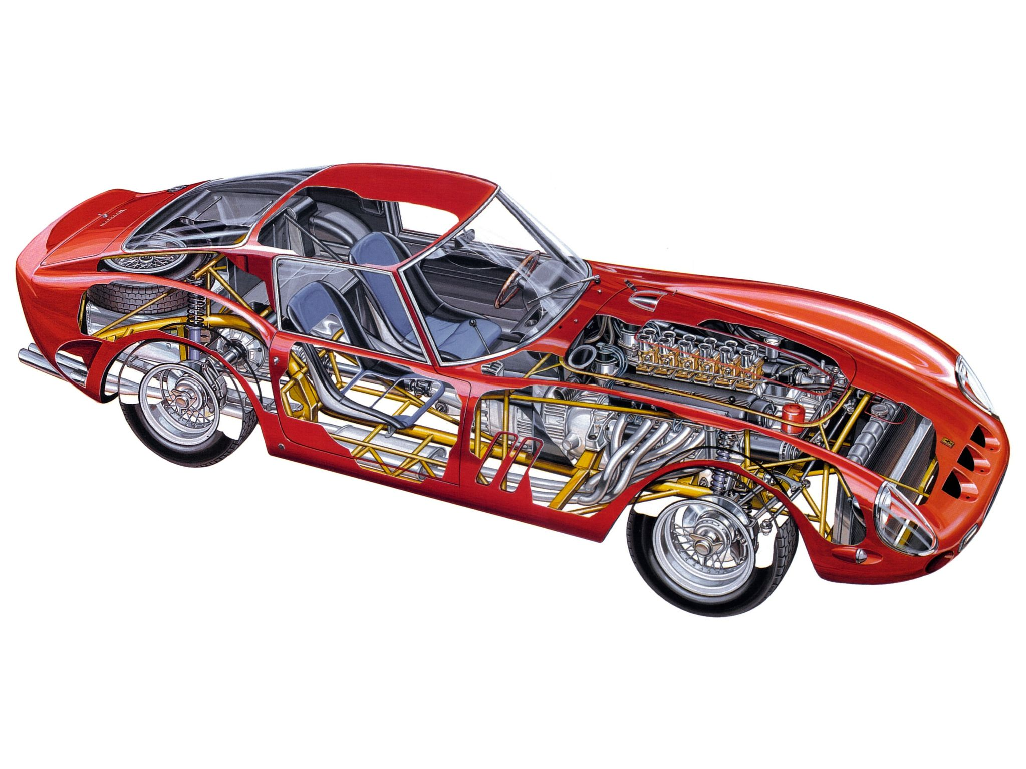 1962 to 1963 ferrari 250 gto series 1 | la ferrari | pinterest