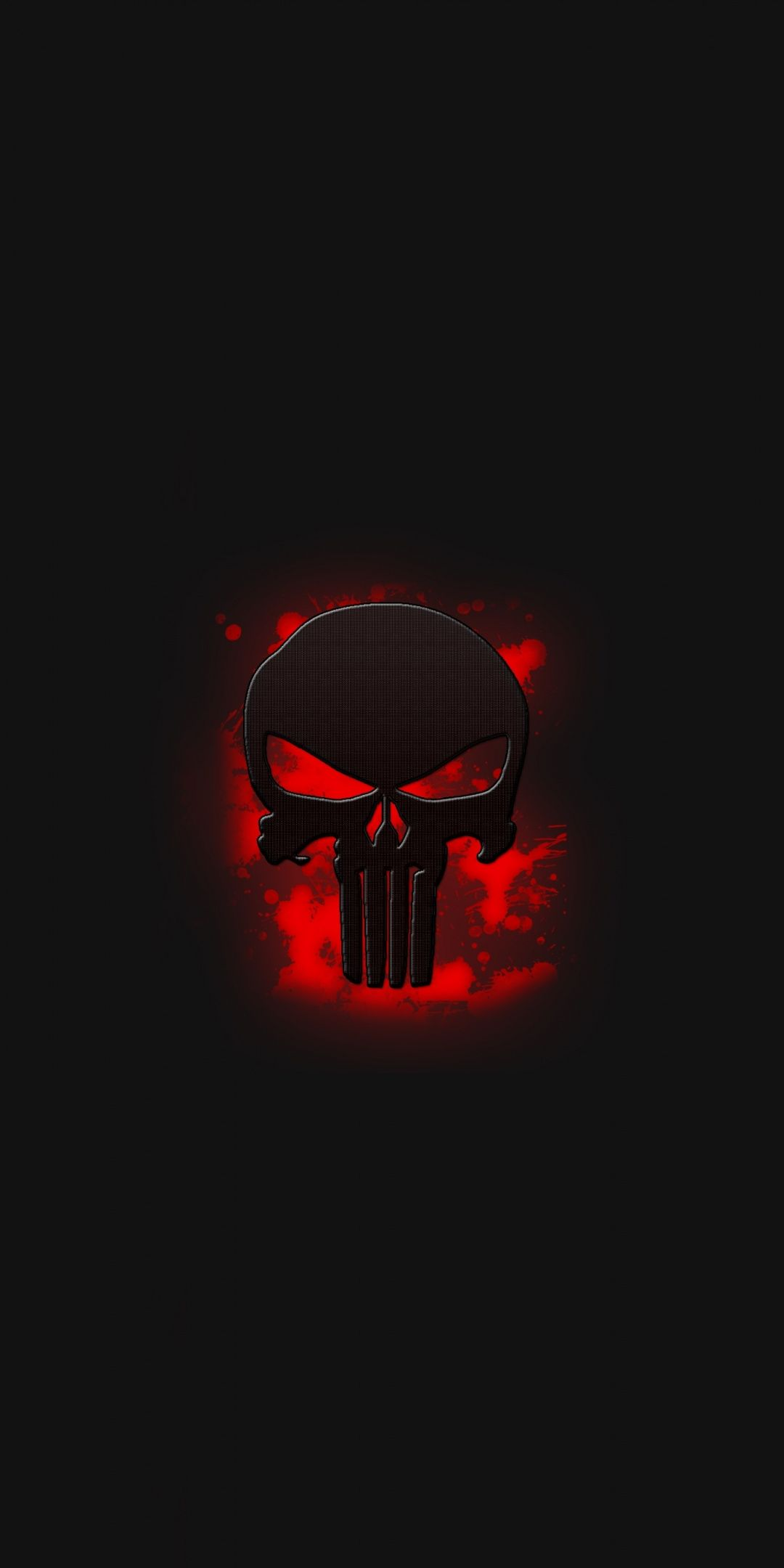 The Punisher Skull Logo Art 1080x2160 Wallpaper Punisher Artwork Punisher Logo Punisher Art