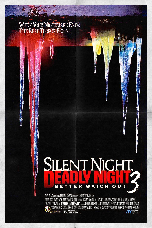 Silent Night Deadly Night 3 (1989) Black christmas