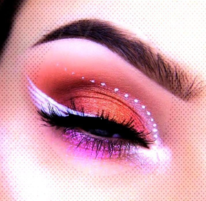20 Ideas para maquillar tus ojos en Halloween sin tener que disfrazarte de pies a cabeza - Betzabet