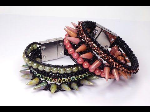 schmuck selber machen armband aus glasperlen und. Black Bedroom Furniture Sets. Home Design Ideas