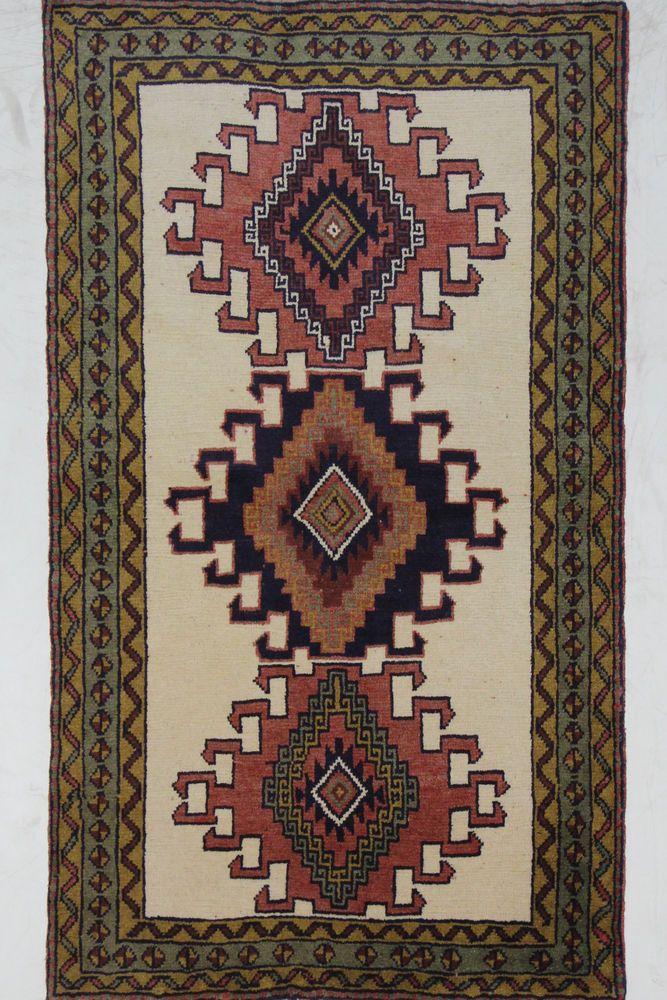 Kurdi Wunderschöner Perser Teppich Handgeknüpfte alfombra