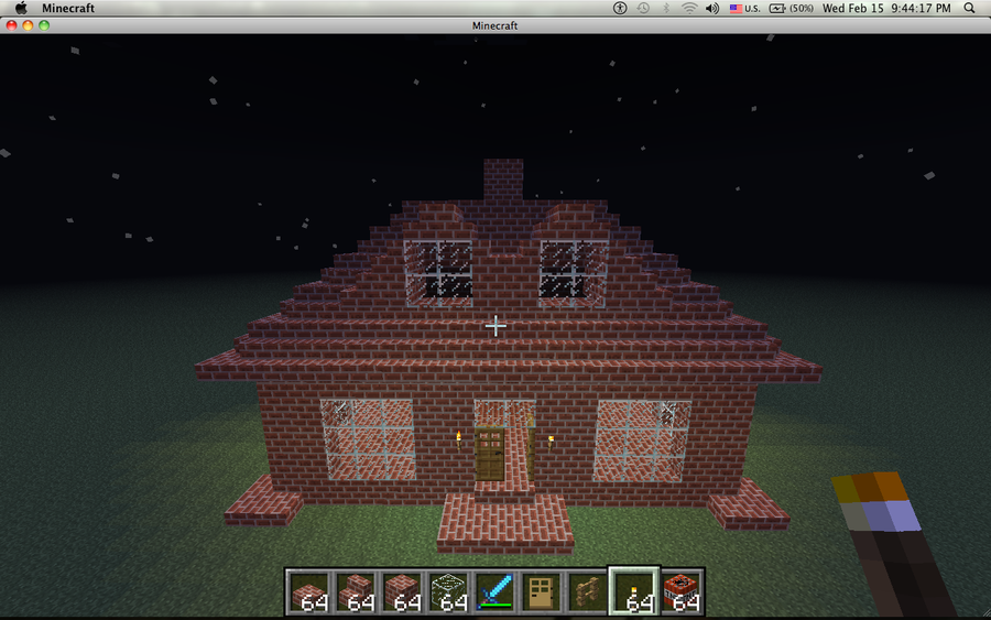 Minecraft Brick House By Arky95 On DeviantArt