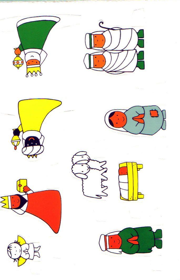 Kerststal Figuren Kleurplaten.Dick Bruna Kerstverhaal Zwart Wit Uitprinten Zelf Inkleuren En