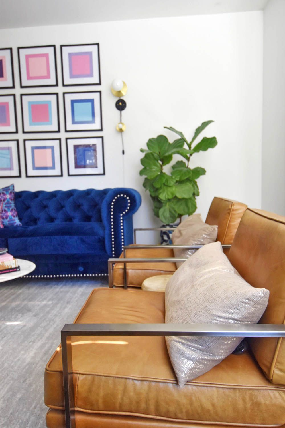 Excellent Stefanies Home Midcentury Glam Living Room Reveal The Pabps2019 Chair Design Images Pabps2019Com