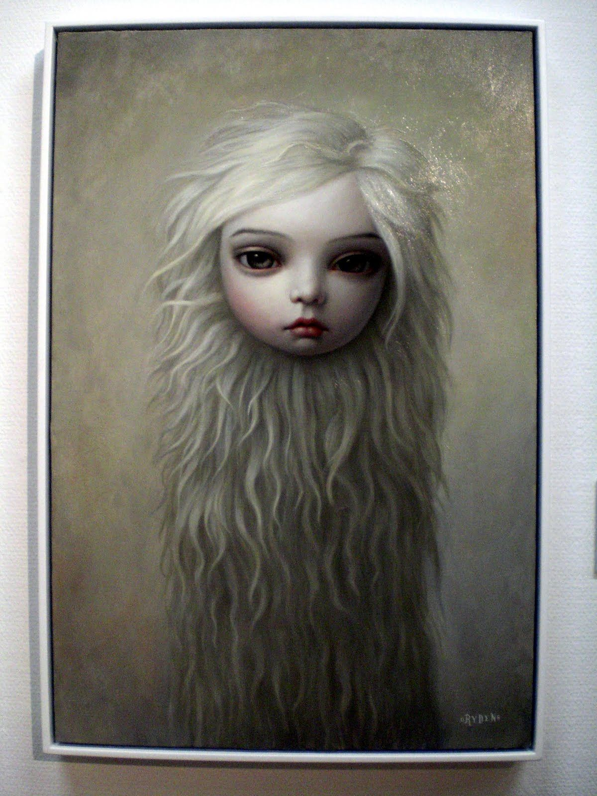 July 2010 lowbrow art mark ryden pop art print