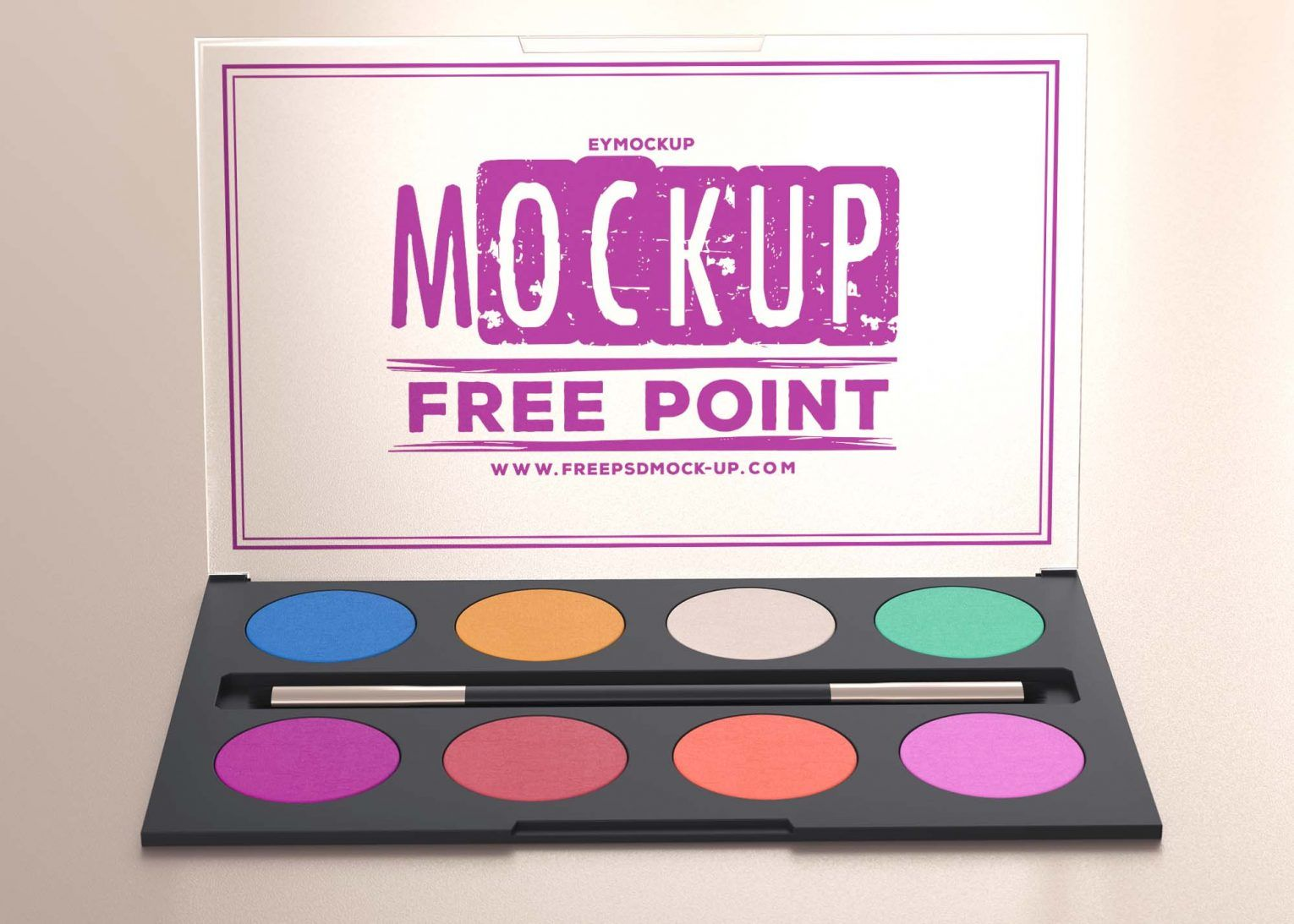 Useful Makeup Kit PSD Mockup for Free