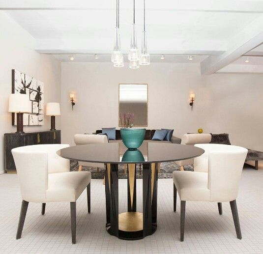 That Table Mid Century Modern Dining Room Luxury Dining