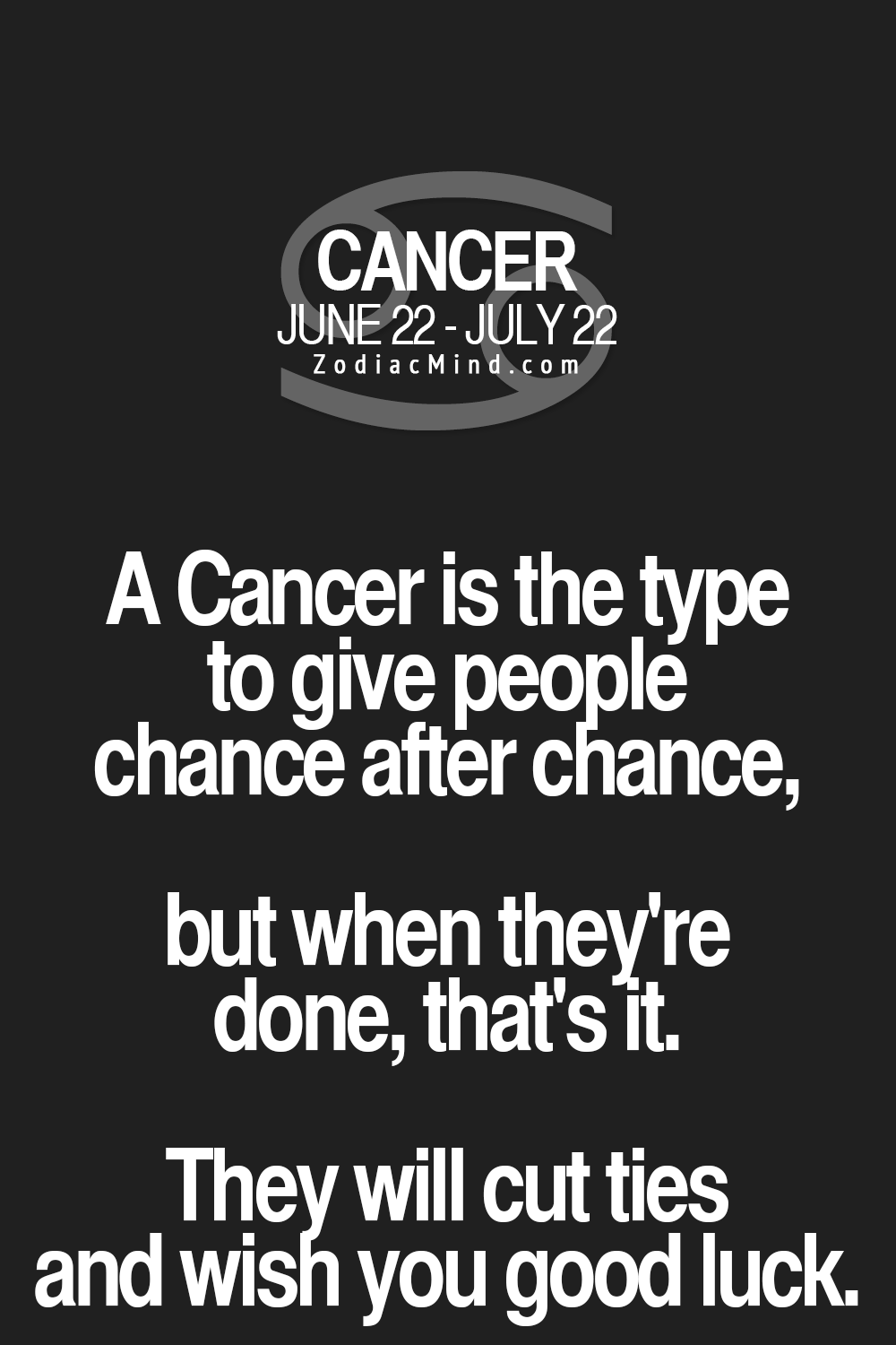 Cancer Zodiac Quotes Zodiac Mind  Your #1 Source For Zodiac Facts  Photo  Inspiration .
