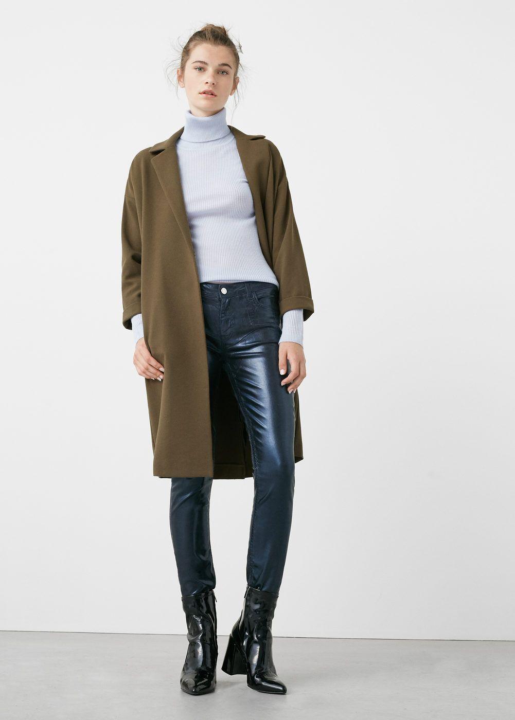 Skinny gloss jeans | MANGO