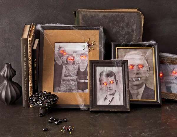 You'll never look at loved ones the same way after transforming their images into a ghostly display.... - Philip Friedman/Studio D