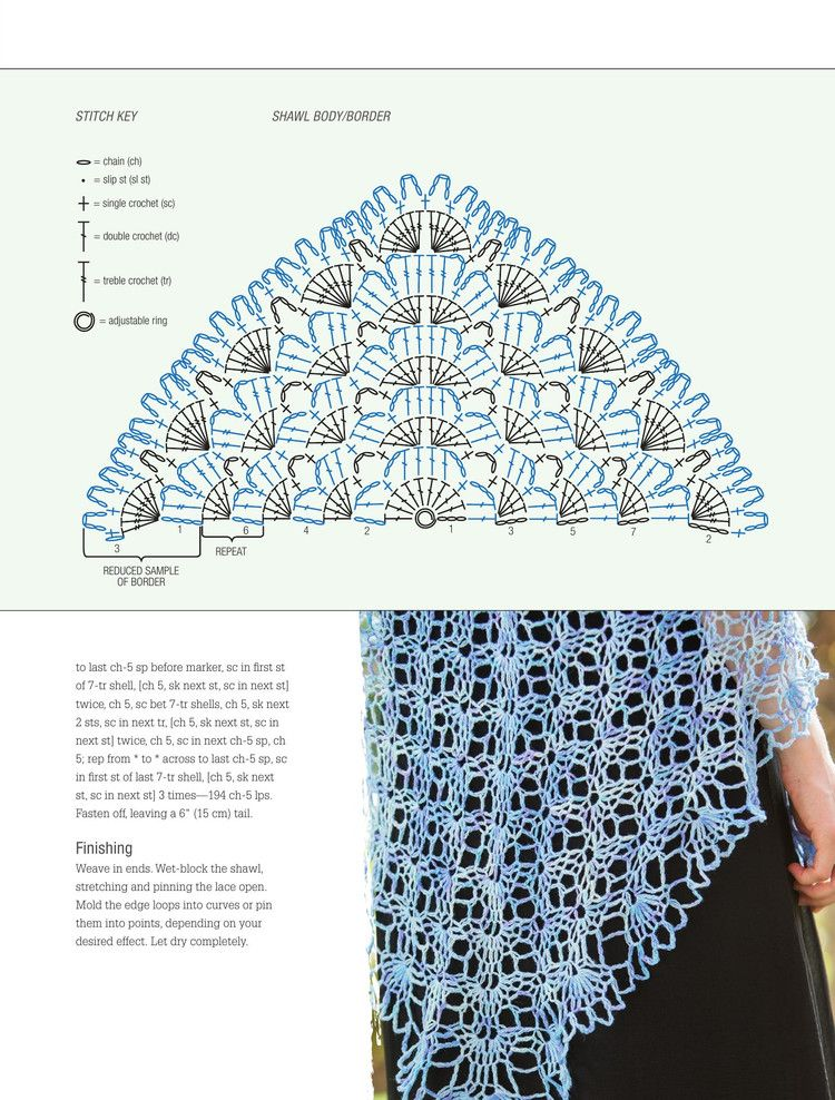 Poetic Crochet 20 Shawls Inspired by Classic Poems 2015 - 轻描淡写 ...