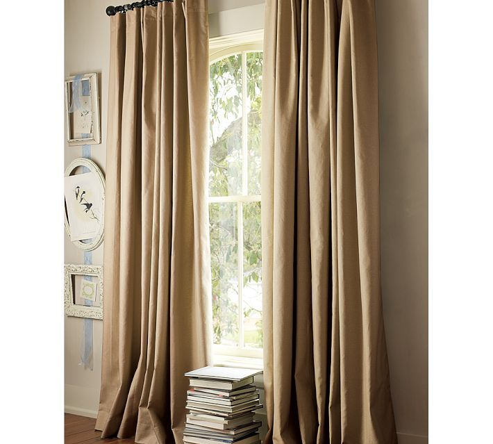 Pottery Barn Sahara Drapes | Peyton Linen Curtains From Pottery Barn U2026..picked